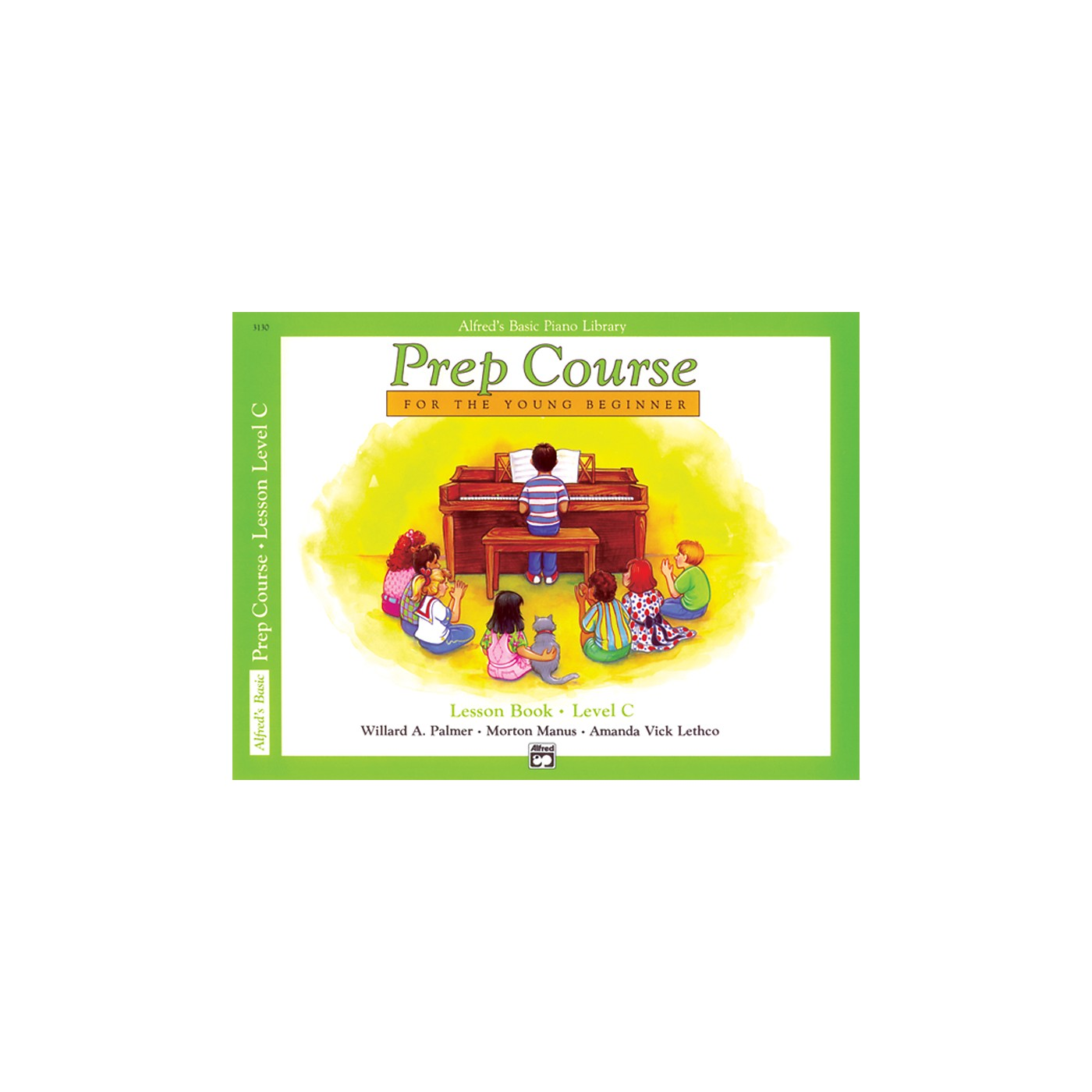 Alfred Alfred's Basic Piano Prep Course Lesson Book C thumbnail