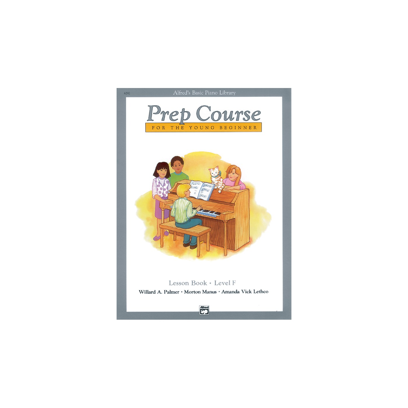 Alfred Alfred's Basic Piano Prep Course Lesson Book F thumbnail