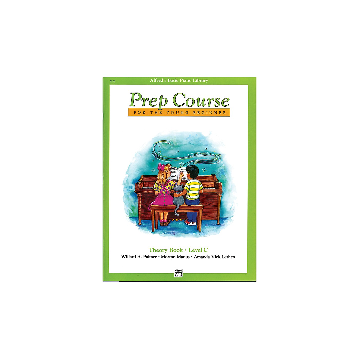 Alfred Alfred's Basic Piano Prep Course Theory Book C thumbnail