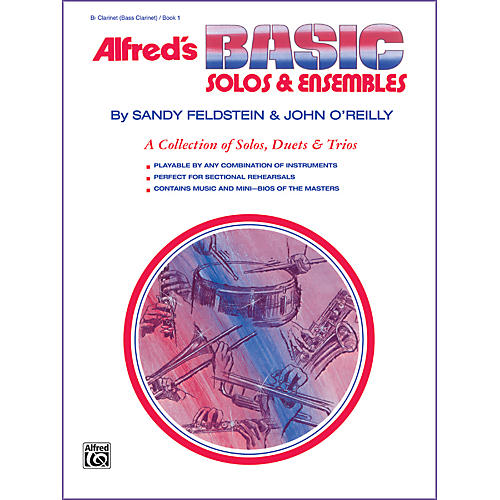 Alfred Alfred's Basic Solos and Ensembles Book 1 Clarinet Bass Clarinet thumbnail