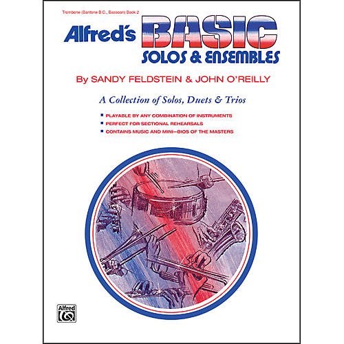 Alfred Alfred's Basic Solos and Ensembles Book 2 Trombone Baritone B.C. Bassoon thumbnail