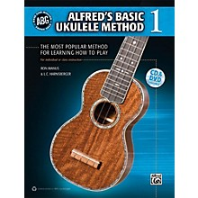Alfred Alfred's Basic Ukulele Method 1 - Book, CD & DVD