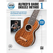 Alfred Alfred's Basic Ukulele Method 1 Book & Online Audio Beginner