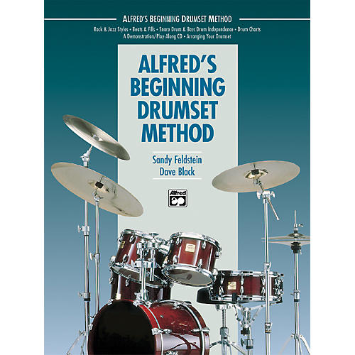 Alfred Alfred's Beginning Drumset Method Book thumbnail