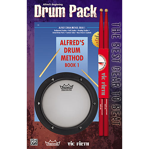 Alfred Alfred's Drum Method Book 1 thumbnail