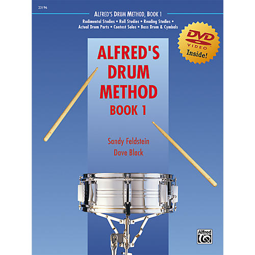 Alfred Alfred's Drum Method Book 1-thumbnail