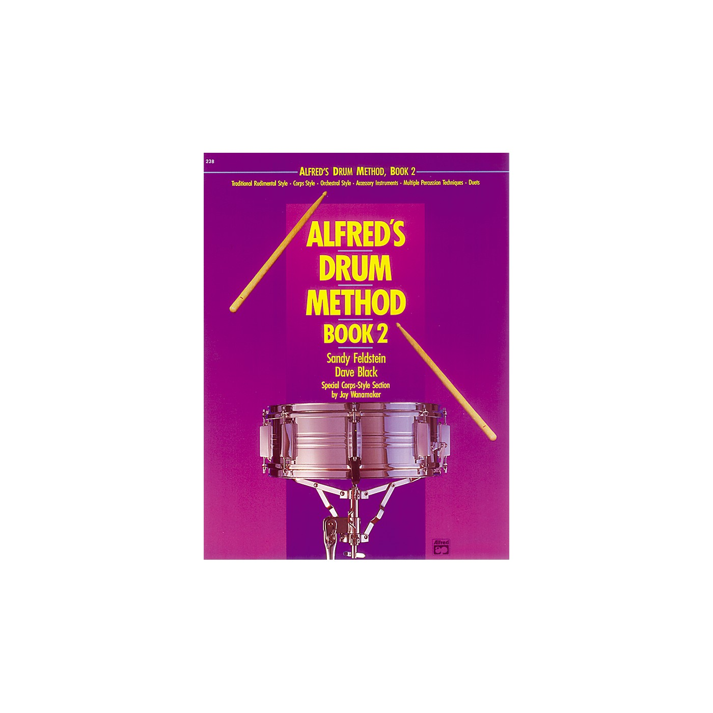 Alfred Alfred's Drum Method Book 2 thumbnail