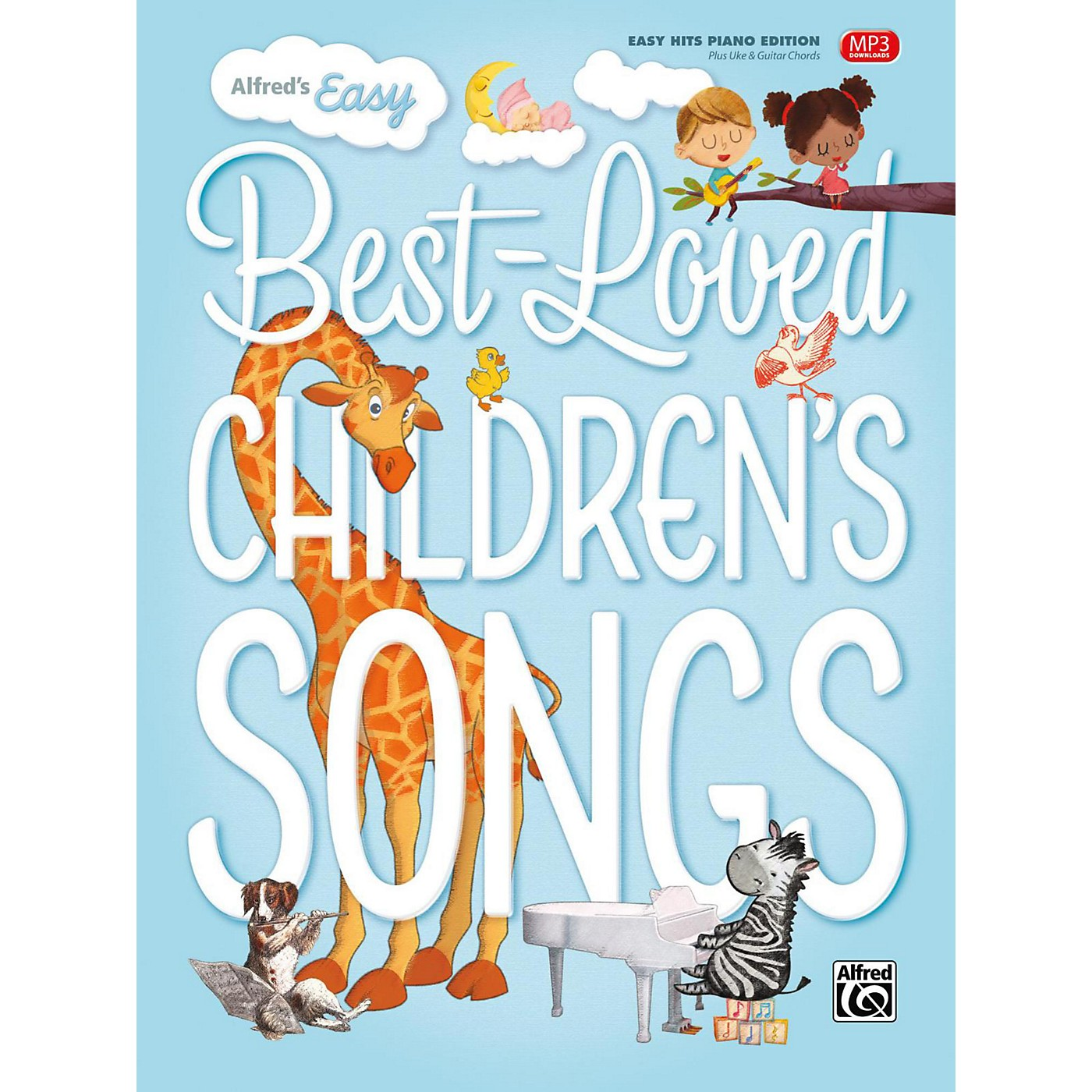 Alfred Alfred's Easy Best-Loved Children's Songs Easy Hits Piano (Hardcover Edition) thumbnail