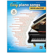 Alfred Alfred's Easy Piano Songs: Rock and Pop Easy Hits Piano Songbook
