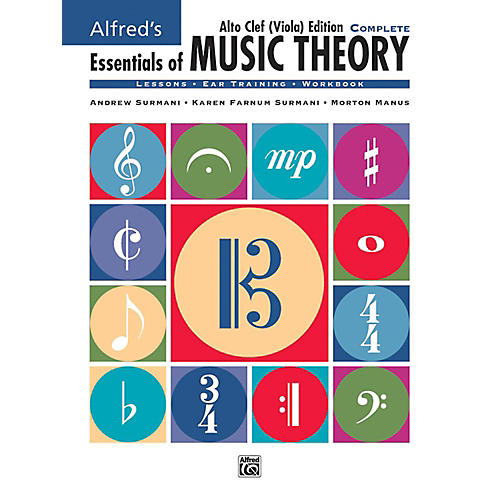 Alfred Alfred's Essentials of Music Theory: Complete Alto Clef, Viola Edition Comb Bound Book thumbnail