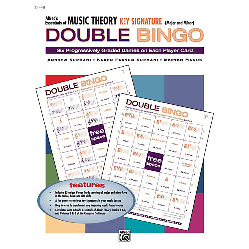 Alfred Alfred's Essentials of Music Theory: Double Bingo Game - Key Signatures thumbnail
