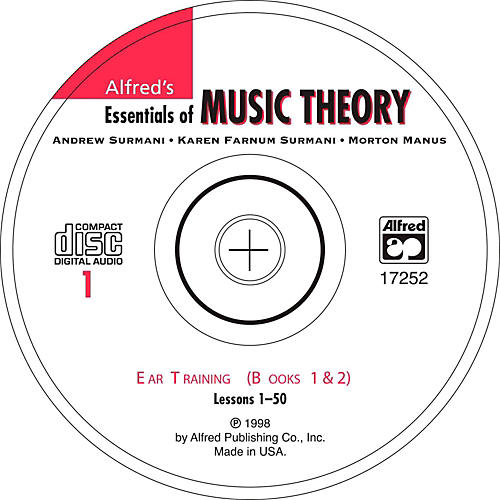 Alfred Alfred's Essentials of Music Theory Ear Training CD 1, Books 1 & 2 thumbnail