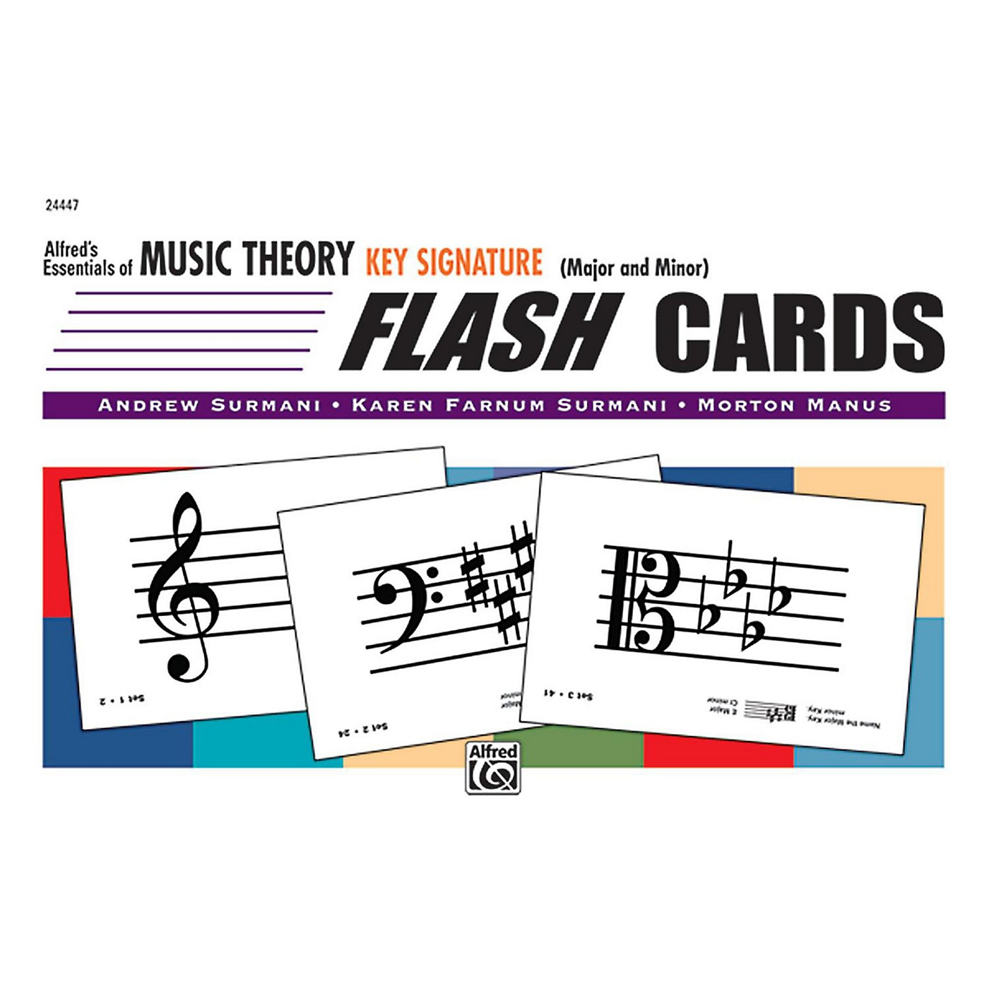 Alfred Alfred's Essentials of Music Theory: Flash Cards - Key Signatures thumbnail