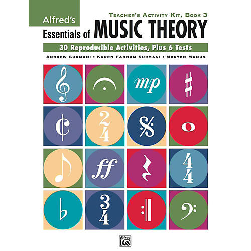 Alfred Alfred's Essentials of Music Theory: Teacher's Activity Kit, Book 3 thumbnail