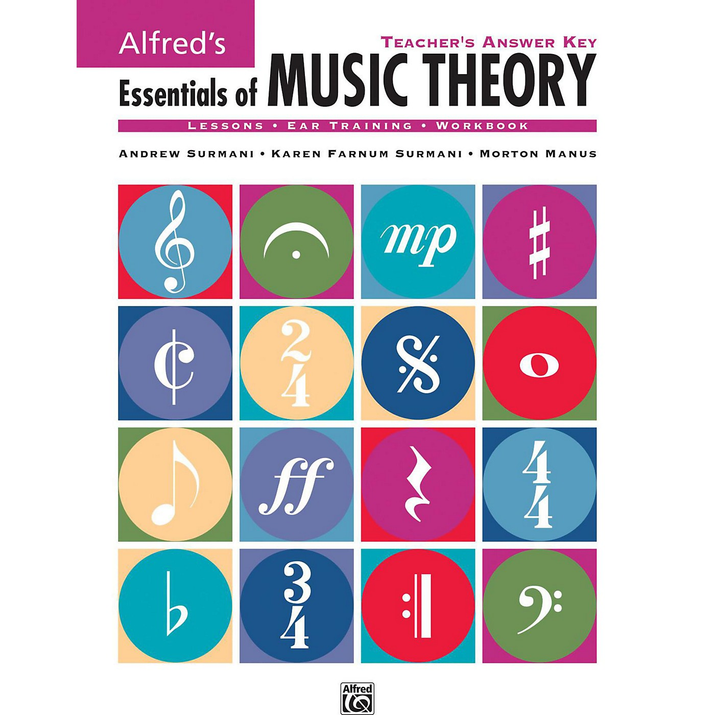 Alfred Alfred's Essentials of Music Theory: Teacher's Answer Key Book & 2 Ear Training CDs thumbnail
