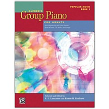 Alfred Alfred's Group Piano for Adults: Popular Music Book 1