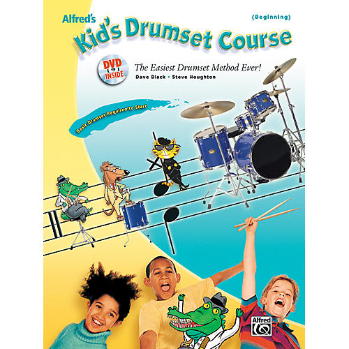 Alfred Alfred's Kid's Drumset Course Book & DVD thumbnail