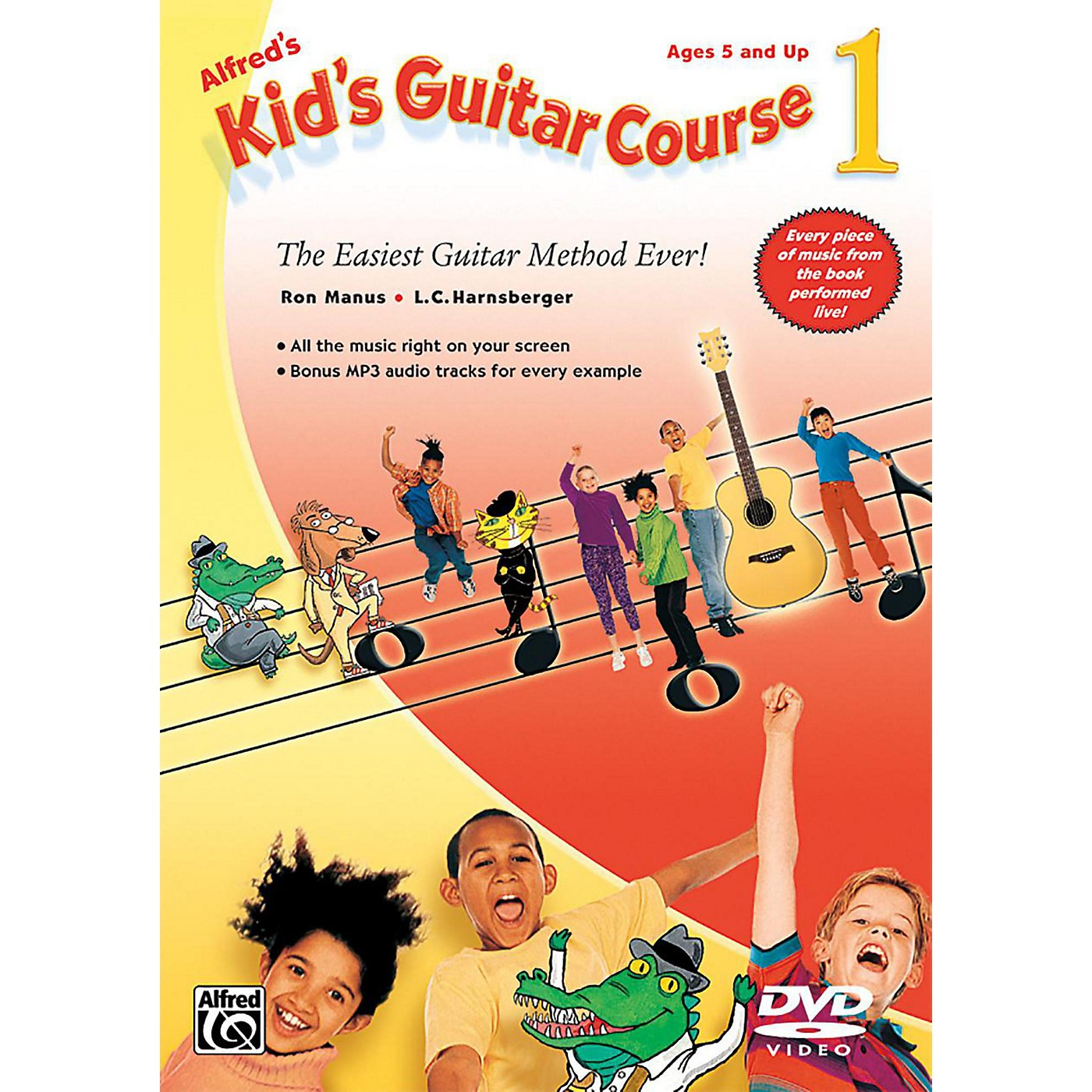 Alfred Alfred's Kid's Guitar Course 1 DVD thumbnail
