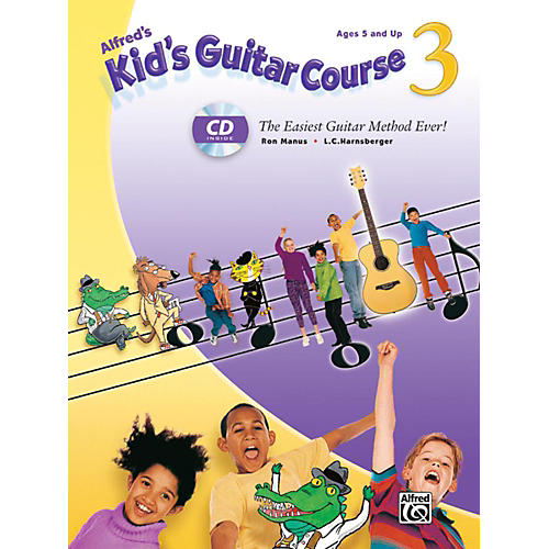 Alfred Alfred's Kid's Guitar Course 3 Book & Enhanced CD thumbnail