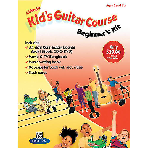 Alfred Alfred's Kid's Guitar Course: Beginner's Kit thumbnail