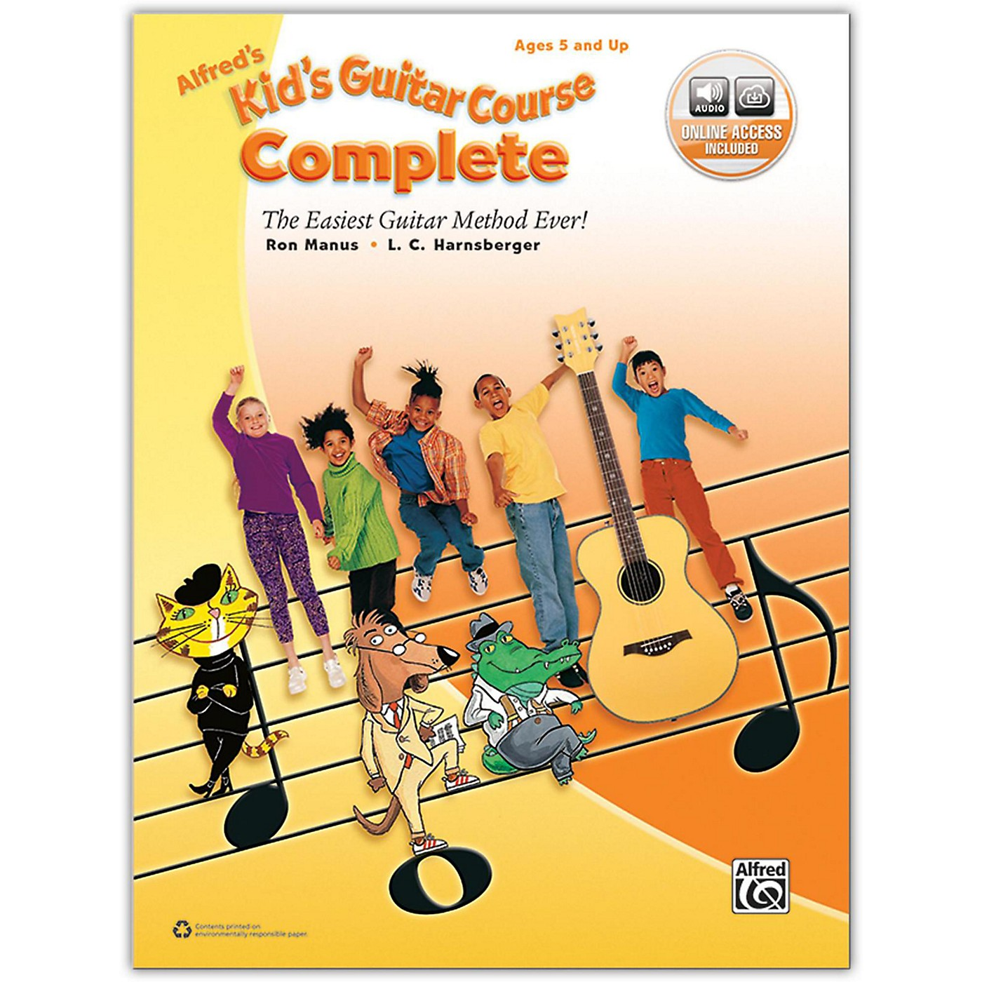 Alfred Alfred's Kid's Guitar Course Complete Book & Online Audio thumbnail