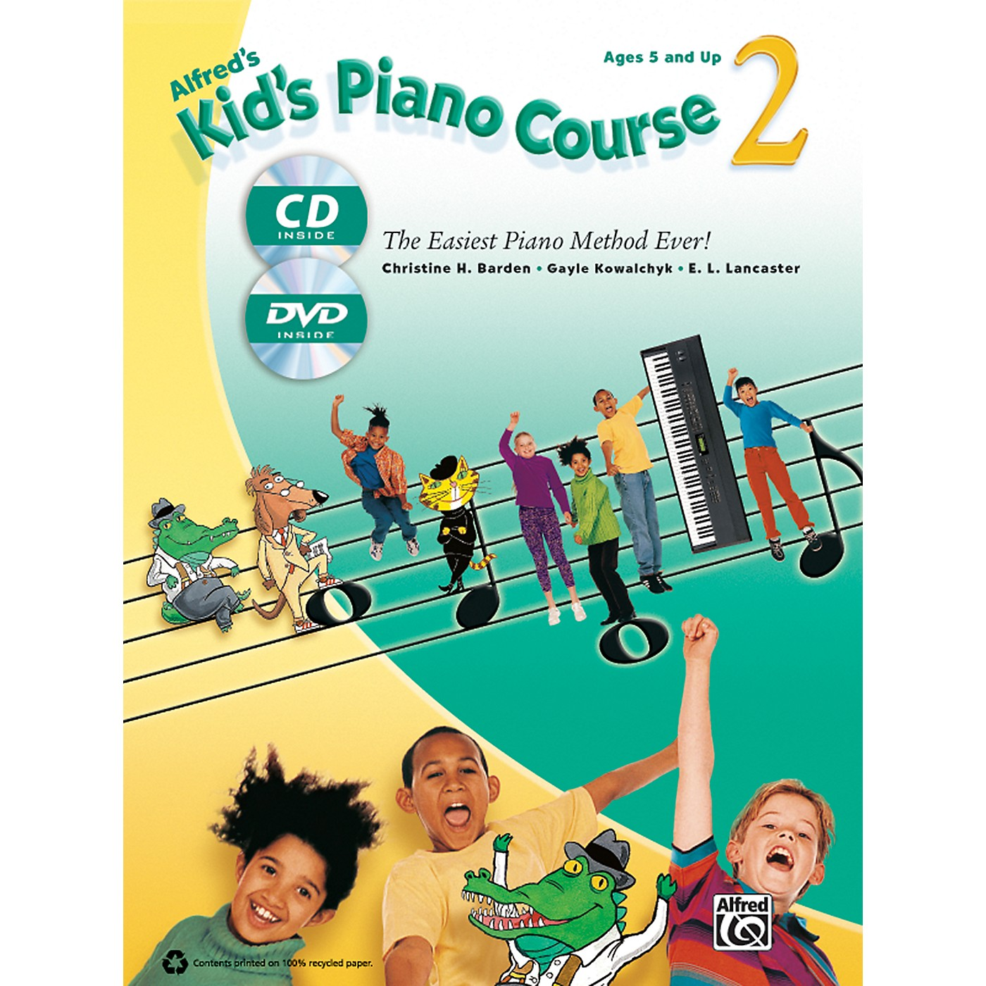 Alfred Alfred's Kid's Piano Course 2 Book, CD & DVD thumbnail