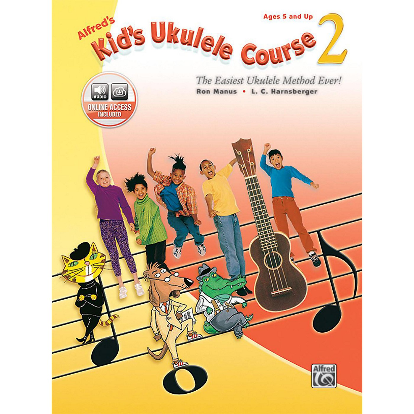 Alfred Alfred's Kid's Ukulele Course 2 Book & Online Audio thumbnail