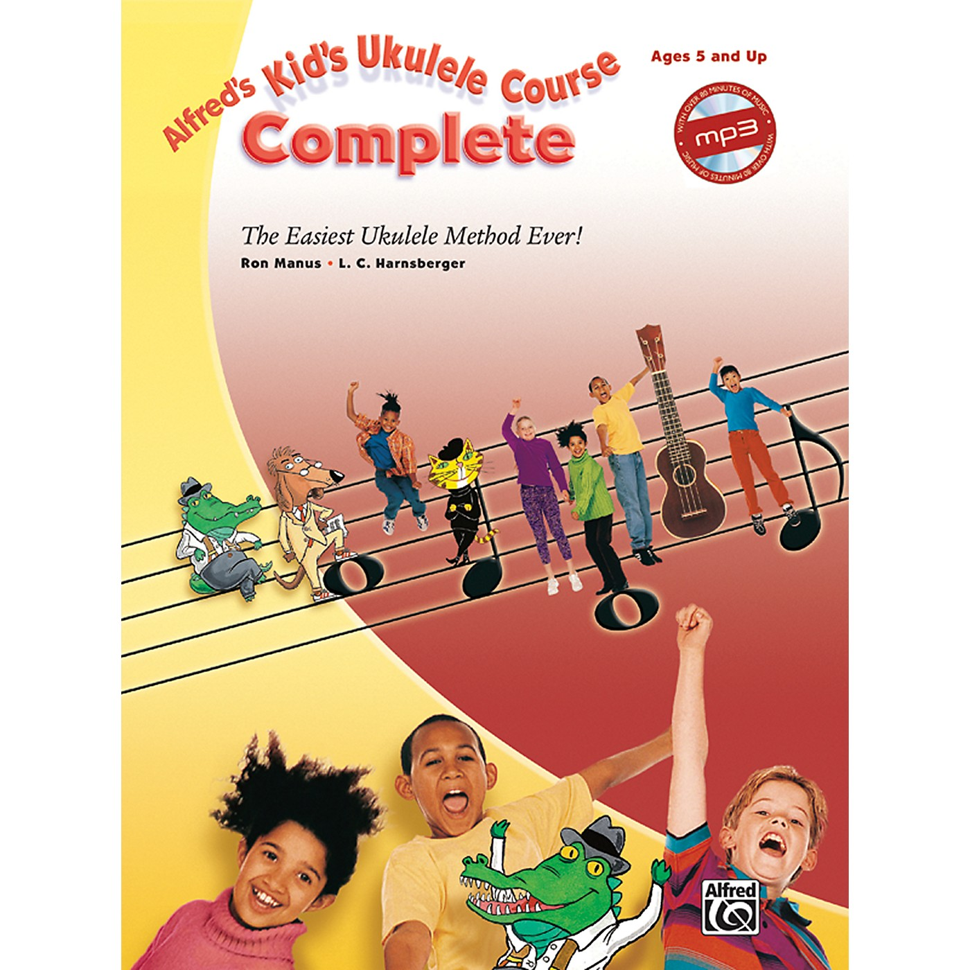 Alfred Alfred's Kid's Ukulele Course Complete Book & CD thumbnail