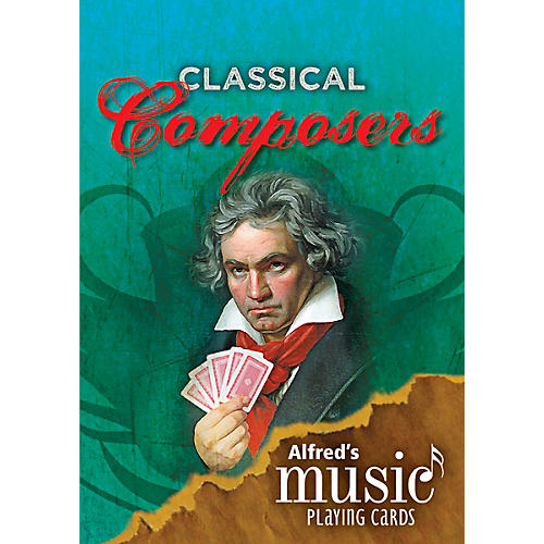 Alfred Alfred's Music Playing Cards Classical Composers thumbnail