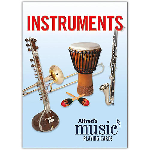 Alfred Alfred's Music Playing Cards: Instruments Card Deck (1 Pack) thumbnail