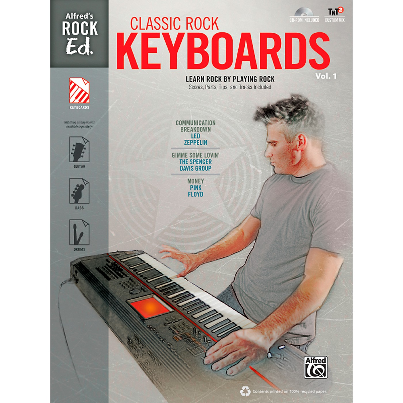 Alfred Alfred's Rock Ed.: Classic Rock Keyboards Vol. 1 Book & CD-ROM thumbnail
