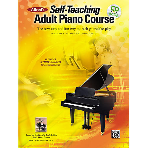 Alfred Alfred's Self-Teaching Adult Piano Course thumbnail