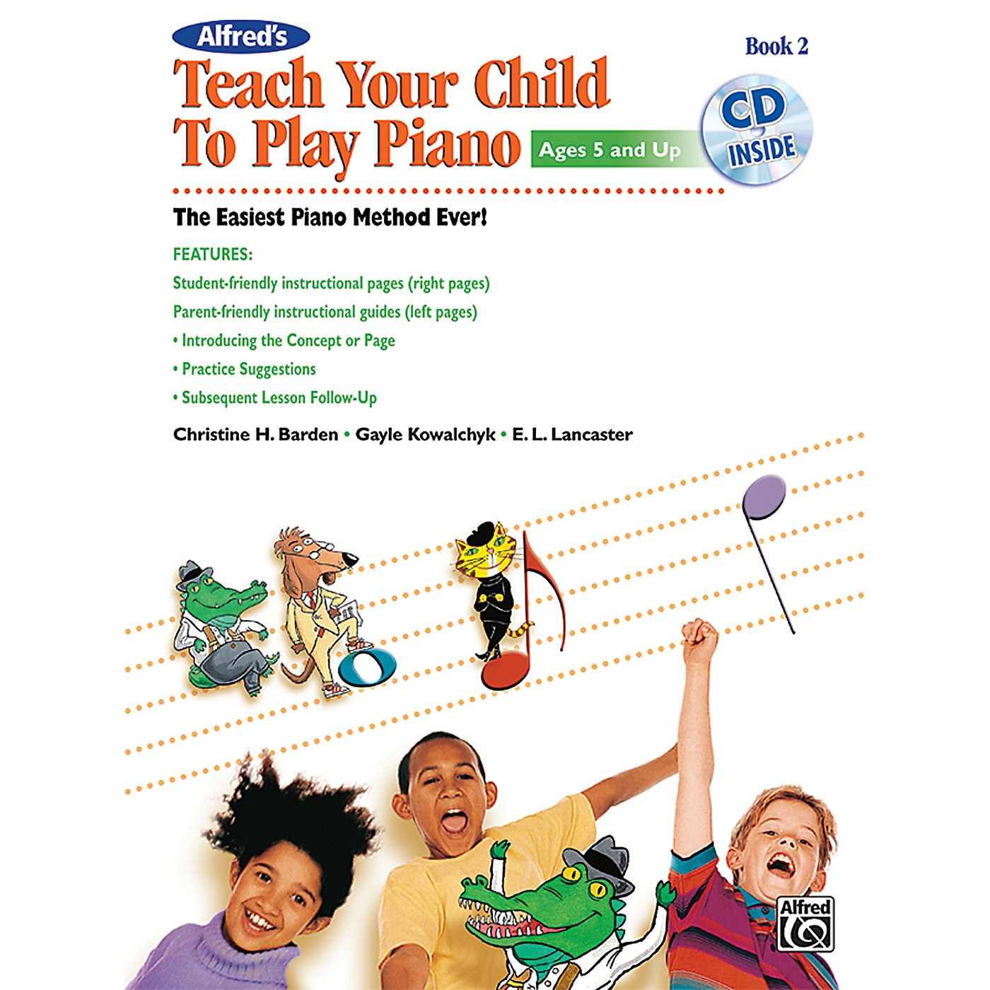 Alfred Alfred's Teach Your Child to Play Piano, Book 2 (Book/CD) thumbnail
