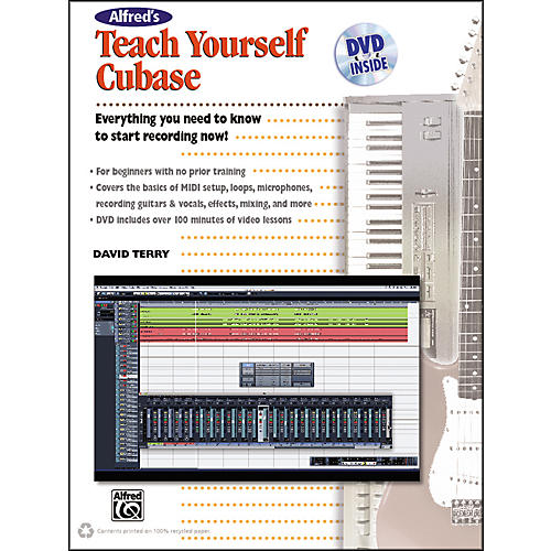 Alfred Alfred's Teach Yourself Cubase Book & DVD thumbnail