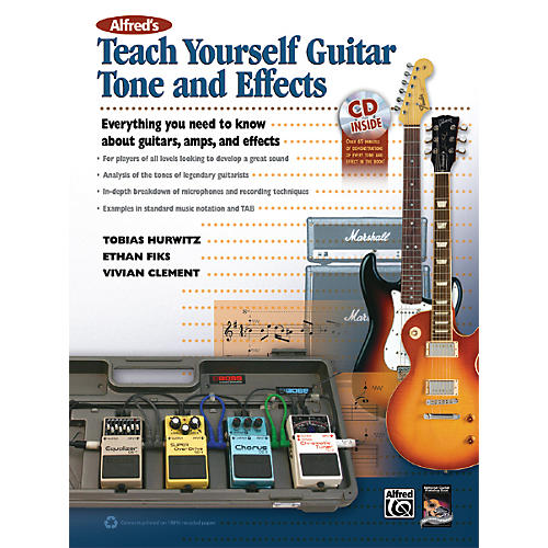 Alfred Alfred's Teach Yourself Guitar Tone and Effects Book & CD thumbnail