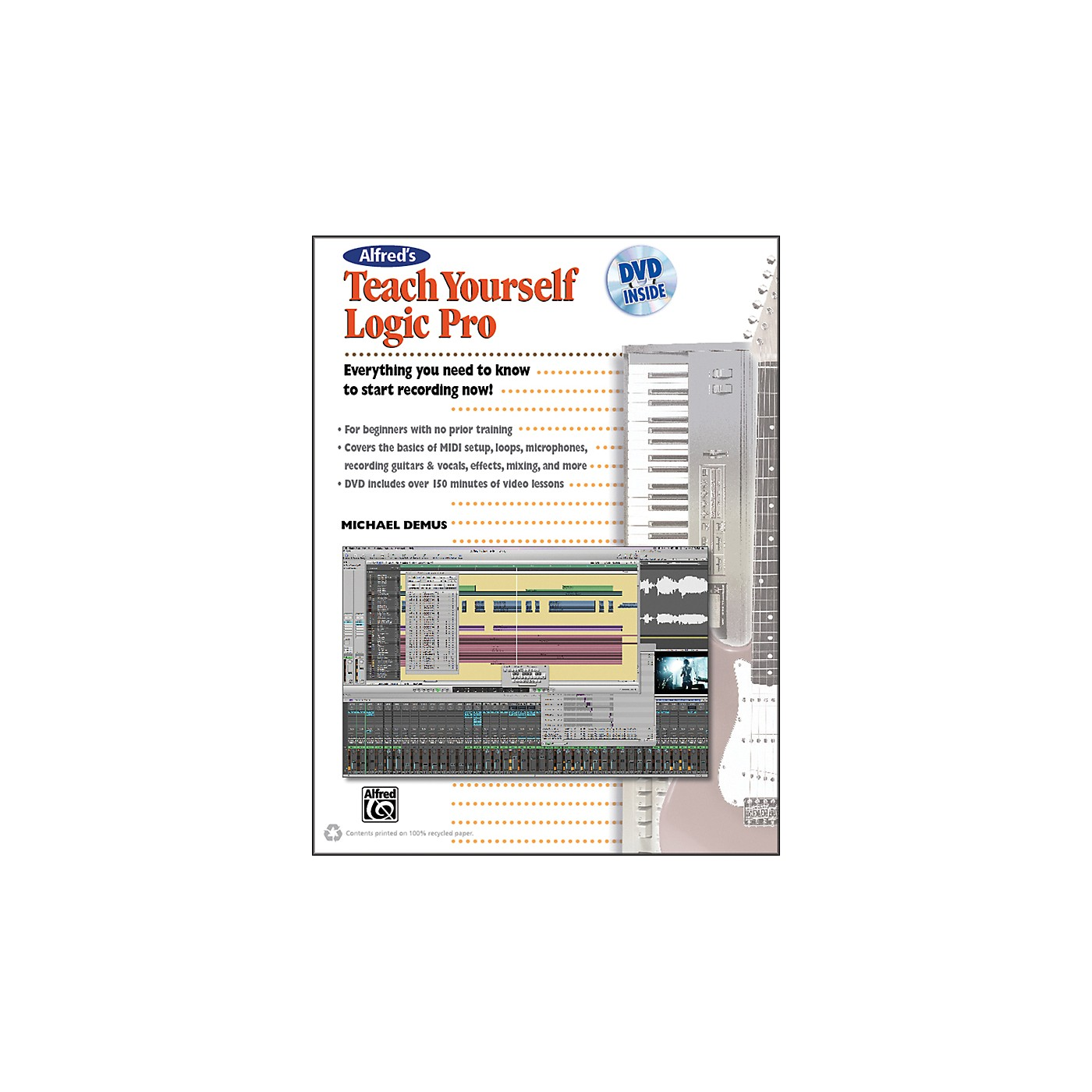 Alfred Alfred's Teach Yourself Logic Pro/Express Book & DVD thumbnail