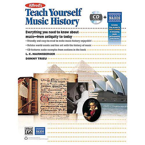 Alfred Alfred's Teach Yourself Music History Book & CD thumbnail