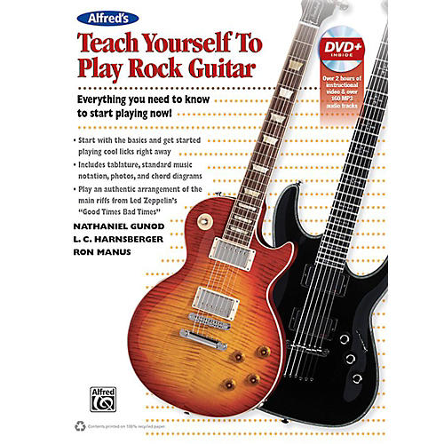 Alfred Alfred's Teach Yourself Rock Guitar Book & DVD thumbnail