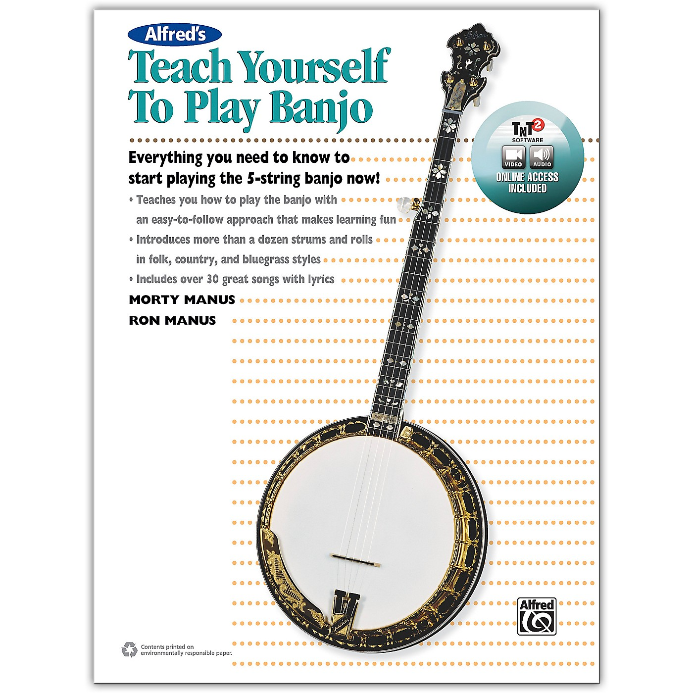 Alfred Alfred's Teach Yourself to Play Banjo Book, With Online Audio and Video thumbnail