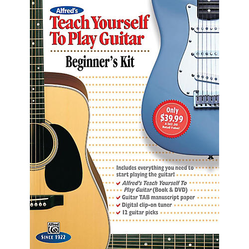 Alfred Alfred's Teach Yourself to Play Guitar: Beginner's Kit thumbnail