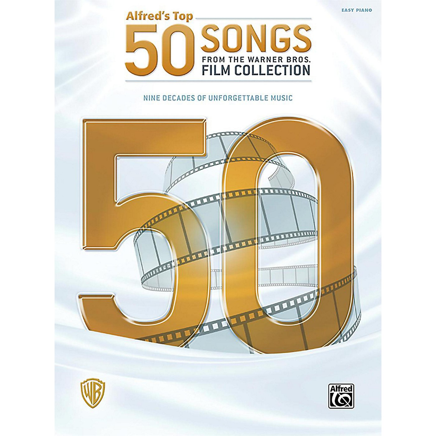 Alfred Alfred's Top 50 Songs from the Warner Bros. Film Collection Easy Piano Songbook thumbnail