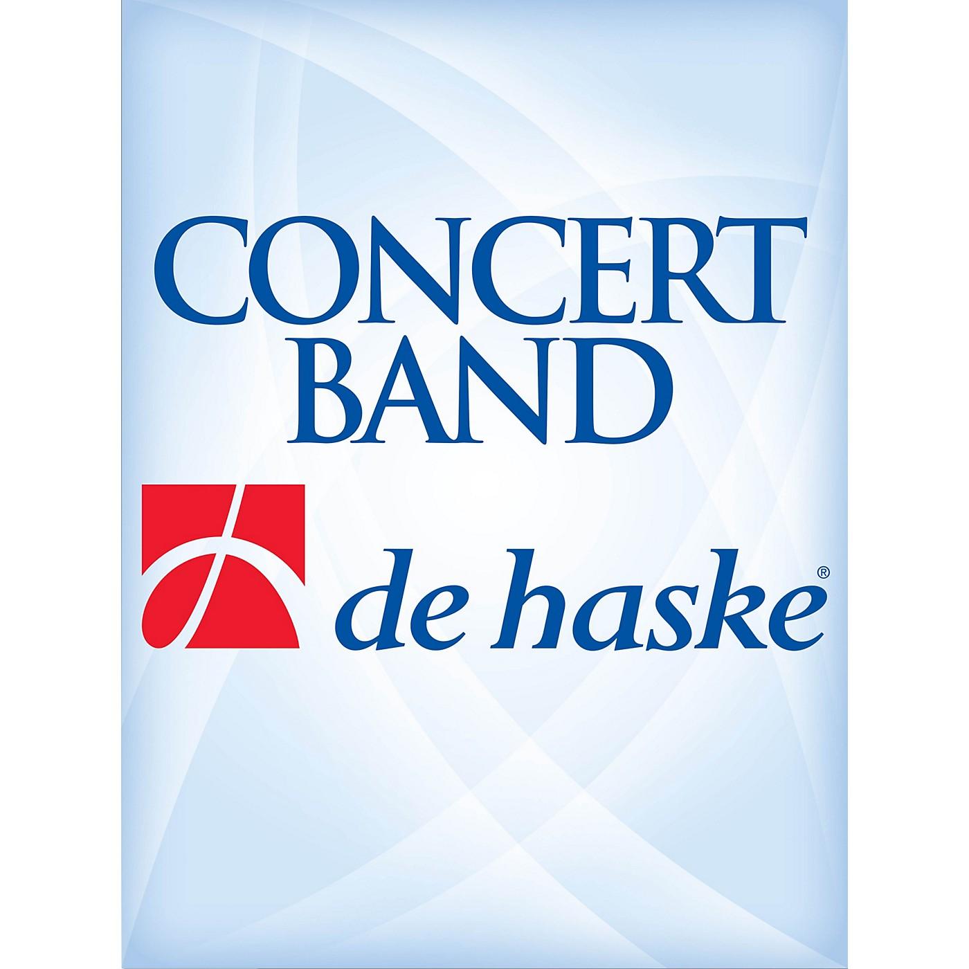 De Haske Music Algona Overture Full Score Concert Band Level 3 Composed by Jan Van der Roost thumbnail
