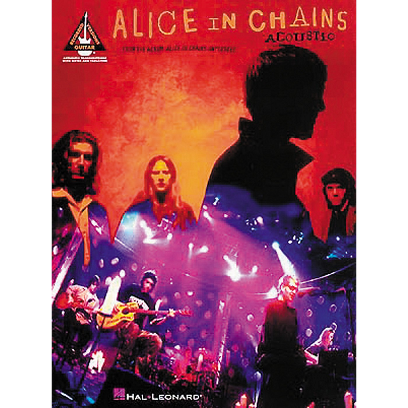 Hal Leonard Alice In Chains Acoustic Unplugged Guitar Tab Songbook thumbnail