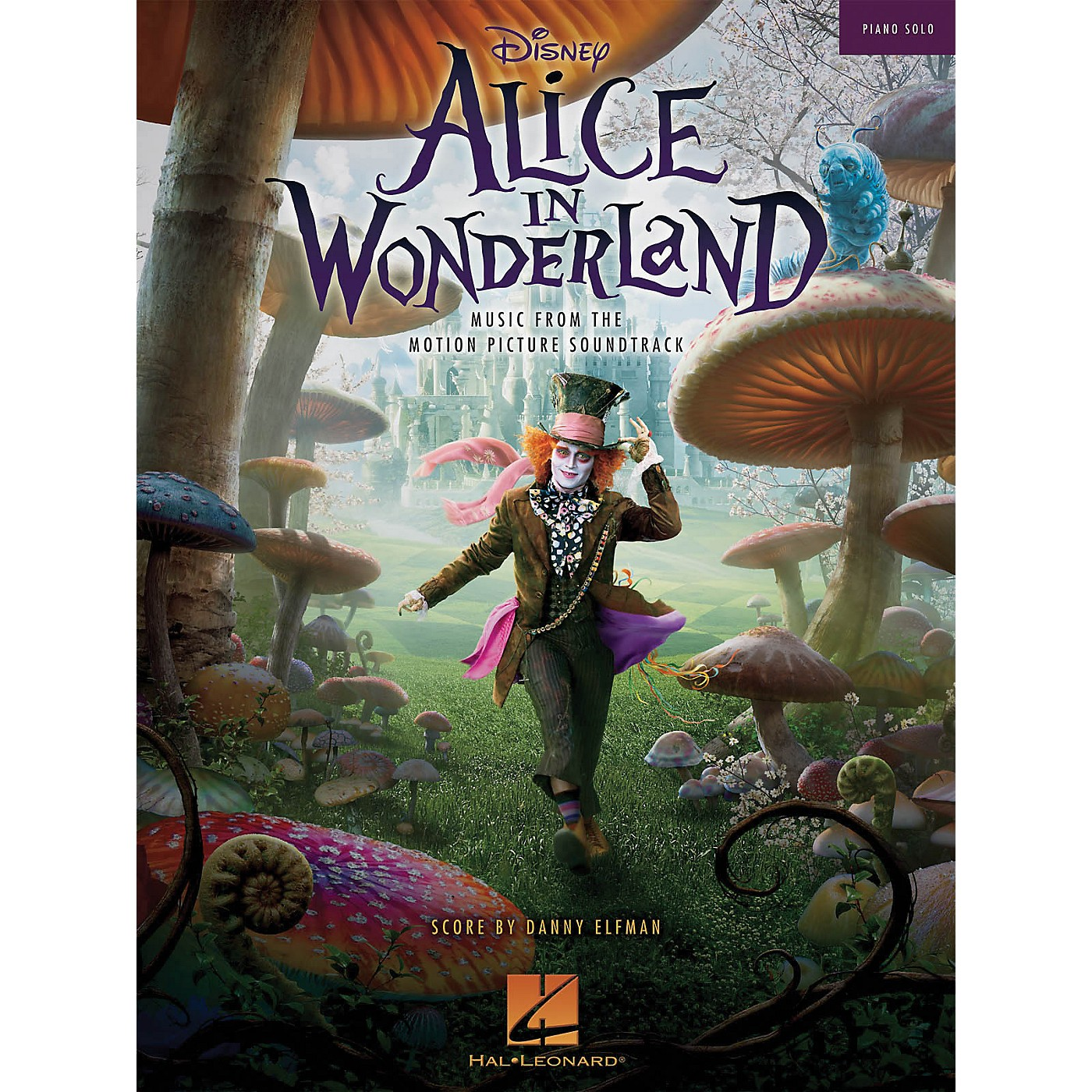 Hal Leonard Alice In Wonderland Music From The Motion Picture Soundtrack Piano Solo thumbnail