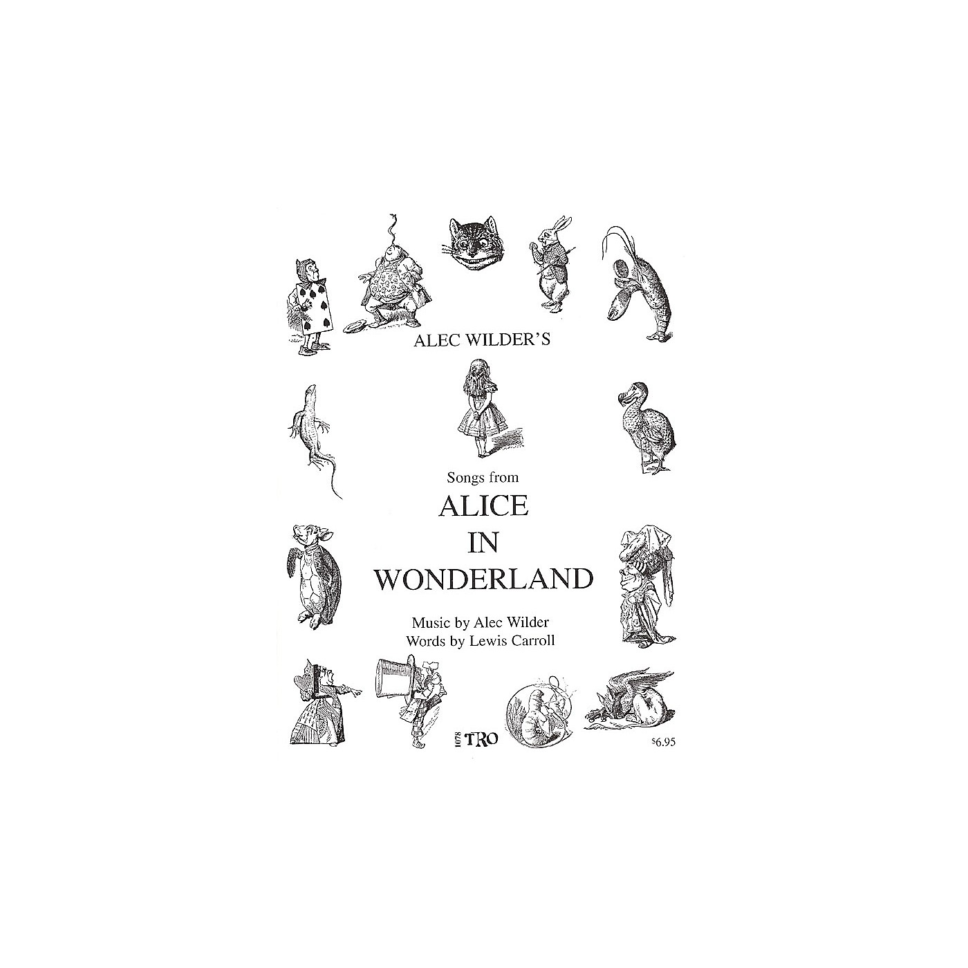 TRO ESSEX Music Group Alice in Wonderland (Music by Alec Wilder, Words by Lewis Carroll) Richmond Music ¯ Folios Series thumbnail