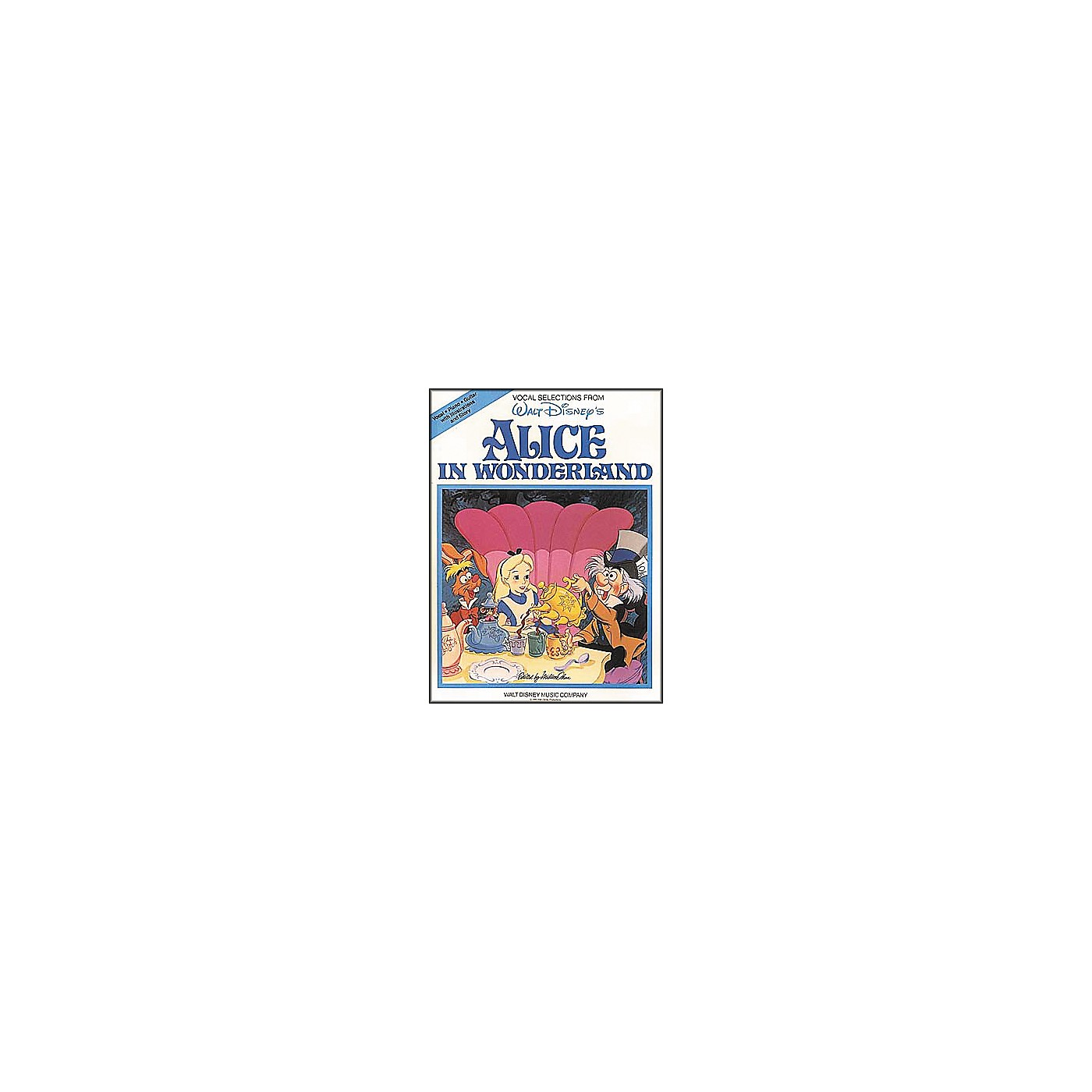 Hal Leonard Alice in Wonderland Piano, Vocal, Guitar Songbook thumbnail