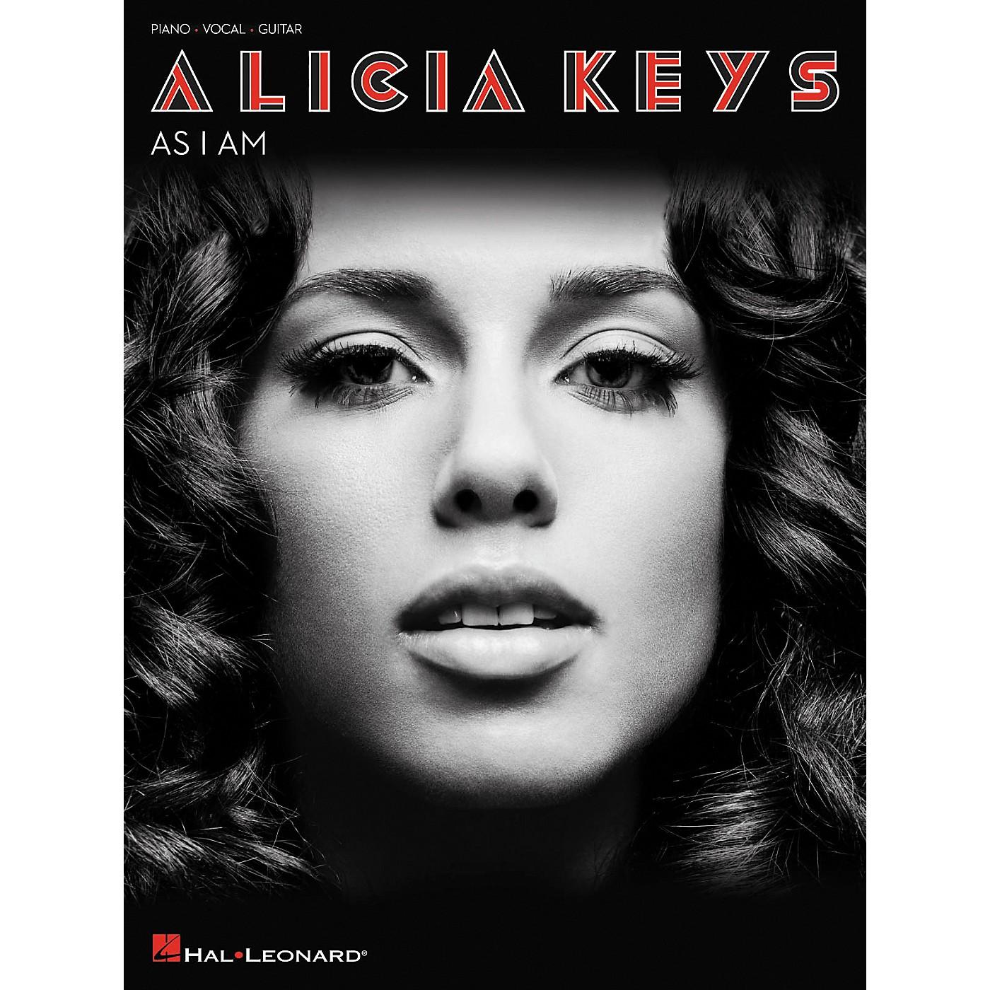 Hal Leonard Alicia Keys As I Am arranged for piano, vocal, and guitar (P/V/G) thumbnail