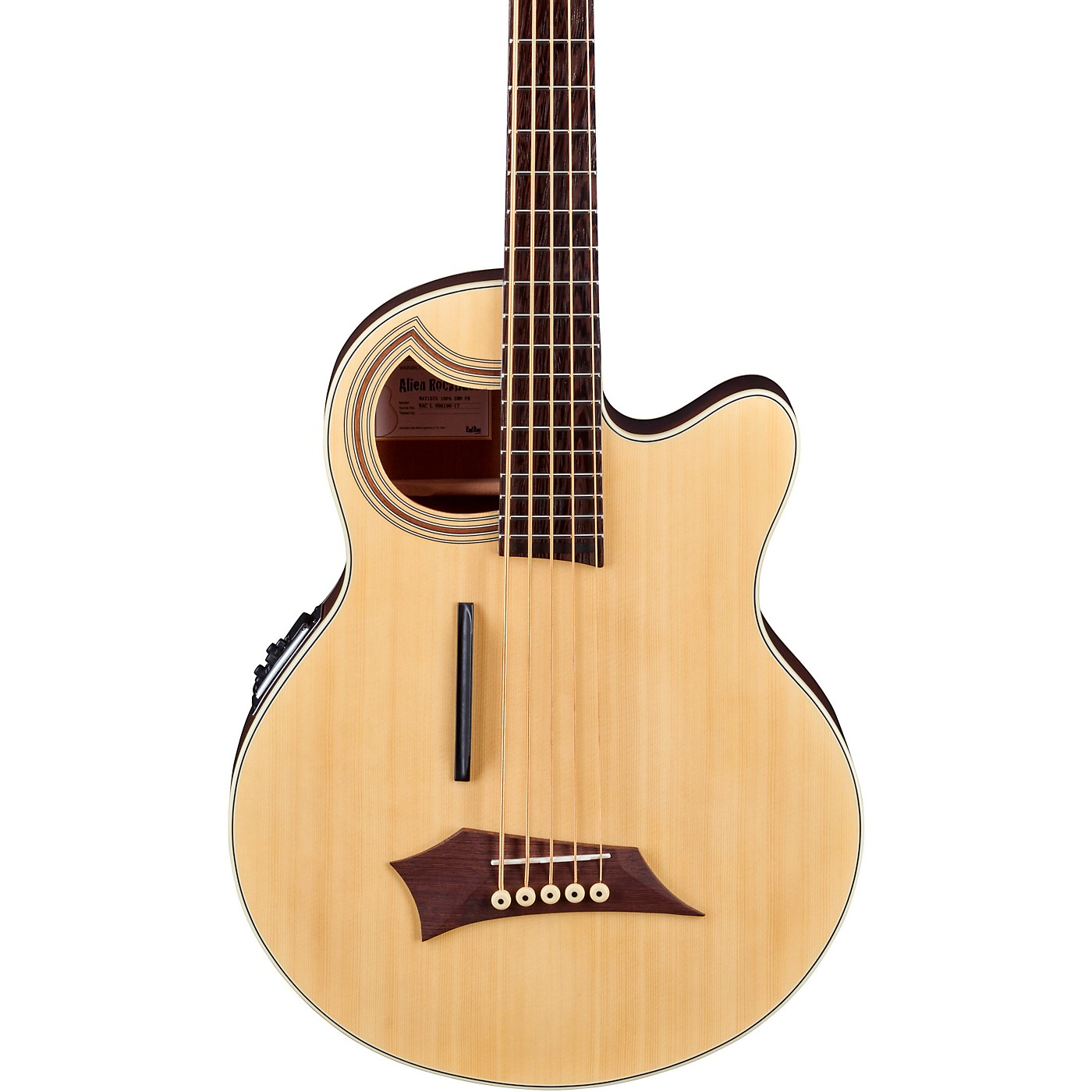 Warwick Alien Deluxe Thinline 5-String Acoustic-Electric Bass thumbnail