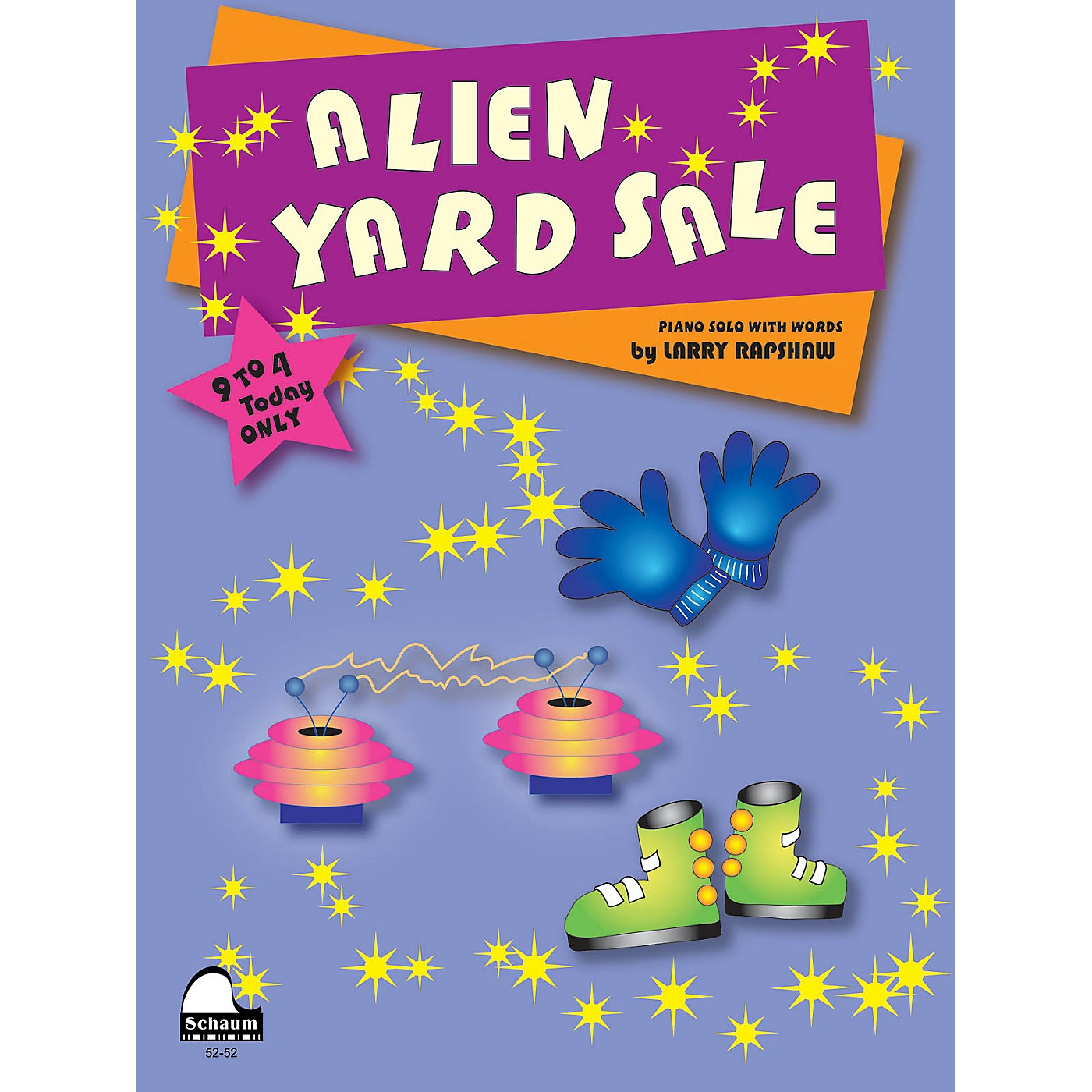 SCHAUM Alien Yard Sale Educational Piano Series Softcover thumbnail