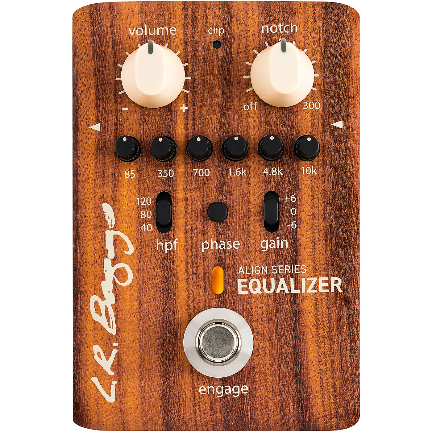 LR Baggs Align Acoustic Preamp/Equalizer Effects Pedal thumbnail